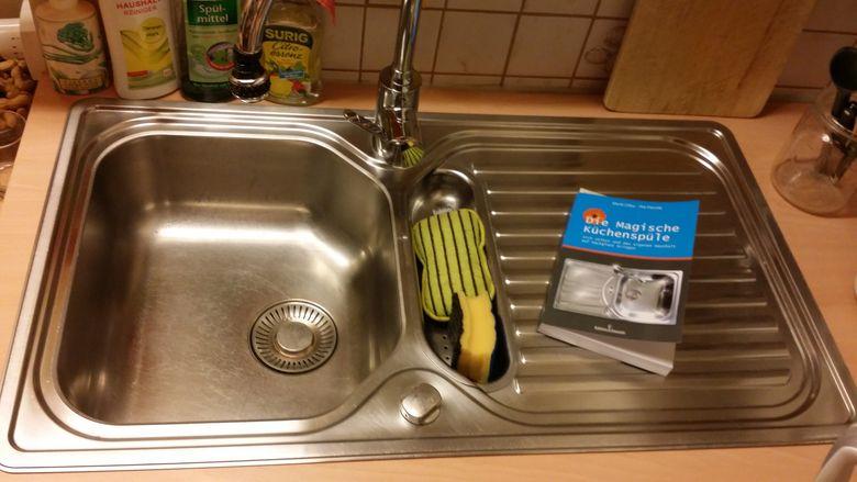 Meine eigene magische Küchenspüle